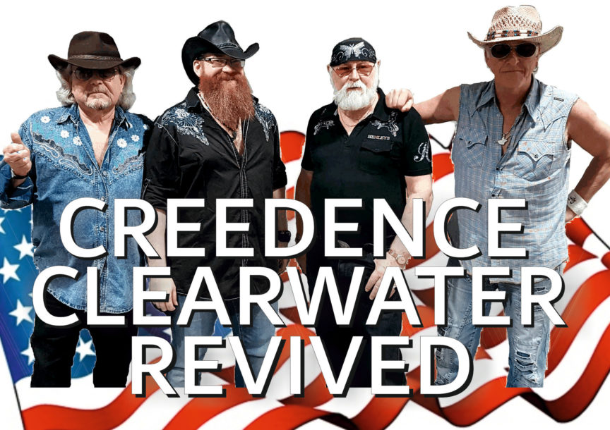 CREEDENCE CLEARWATER REVIVED Tour 2018/2019 - Musica e Spettacolo