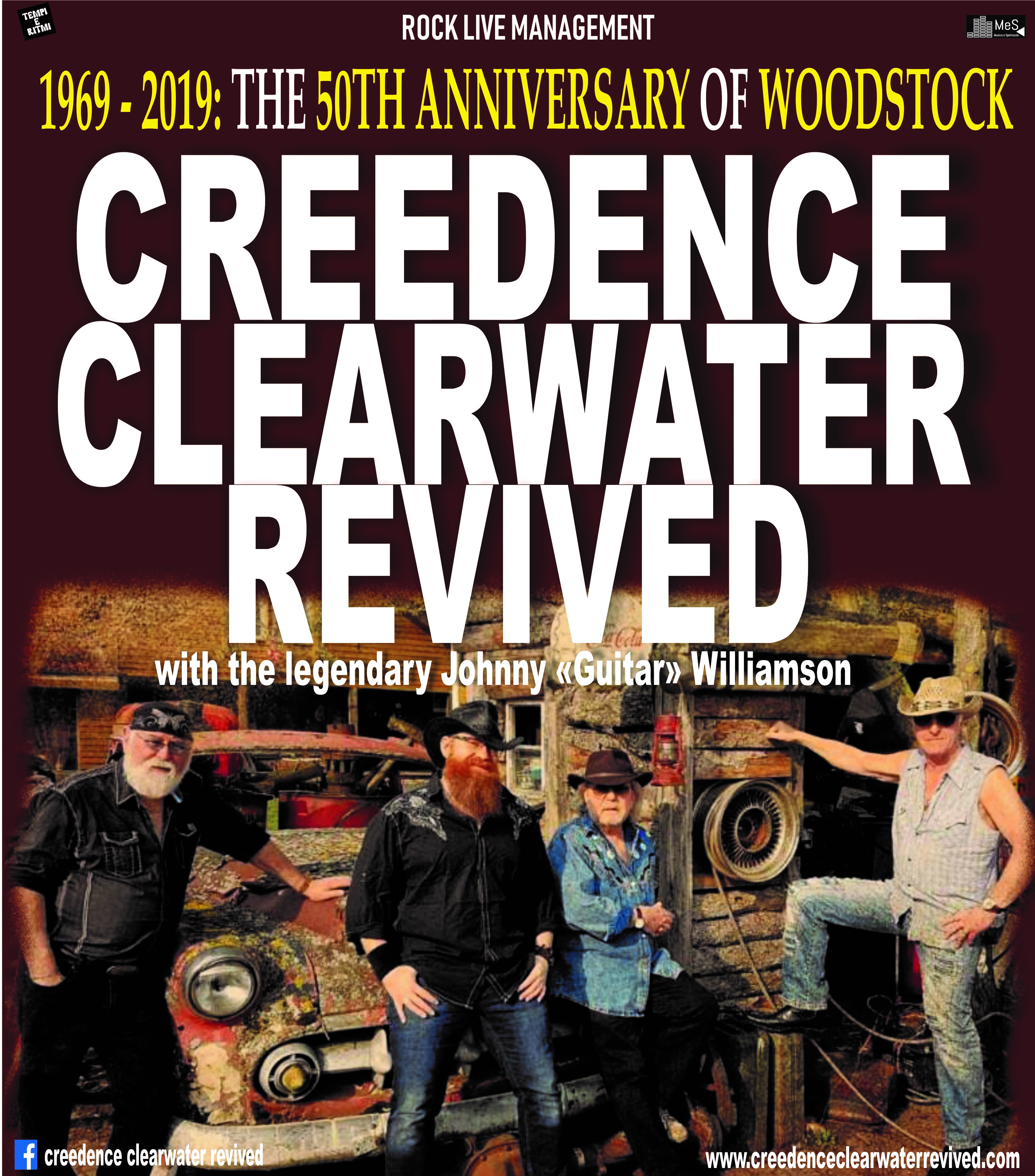 CREEDENCE CLEARWATER REVIVED -